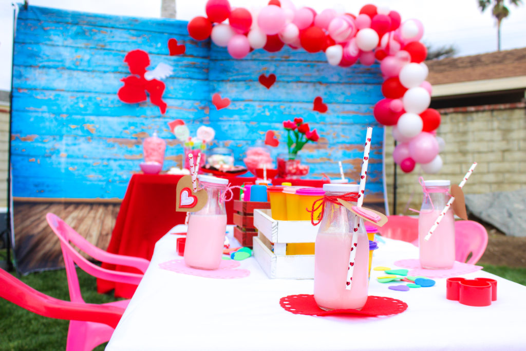 Valentine S Day Kids Party Table Marcys Mess